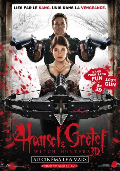 Hansel & Gretel : Witch Hunters (2013)